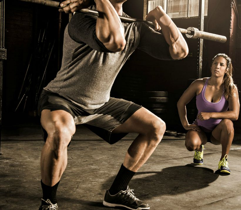 Squat WOD Crossfit